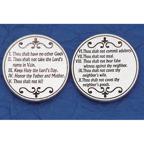 Ten Commandments Pocket Token