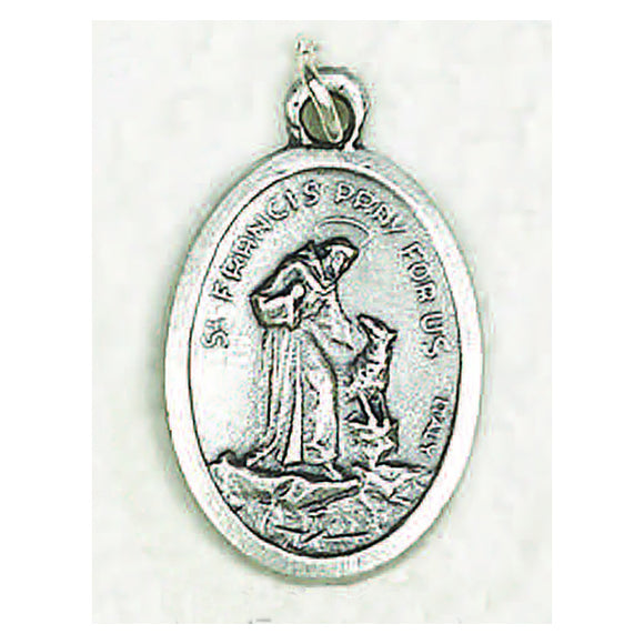 Oval St. Francis Medal