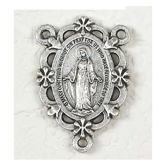 Miraculous Medal Flower Rosary Center