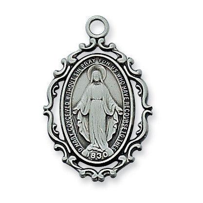 Pewter Miraculous Medal