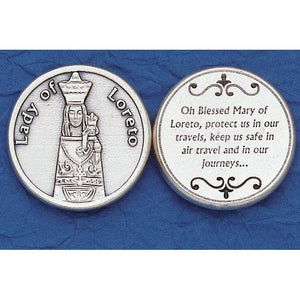 Our Lady of Loreto Pocket Token