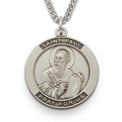 St. Paul Sterling Silver Medal
