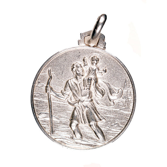 St. Christopher Sterling Silver Medal