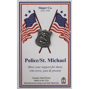 St. Michael Police Lapel Pin