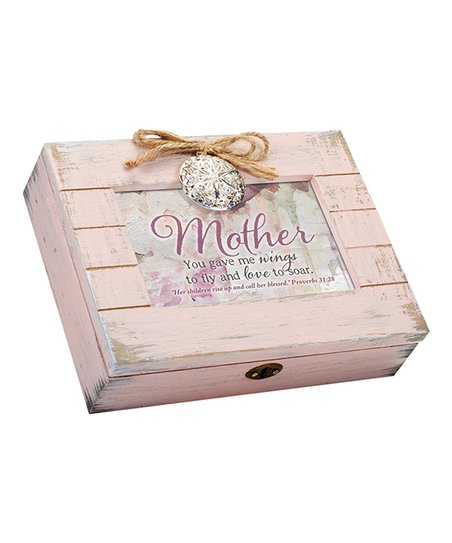 Mother You Gave Wings Love to Soar Music Box
