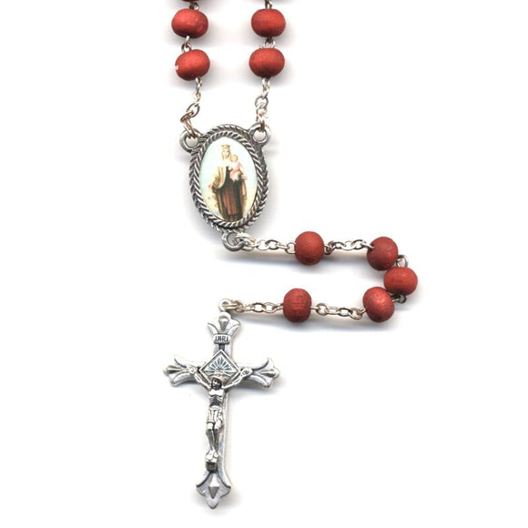 Our Lady of Mt. Carmel Rose Rosary