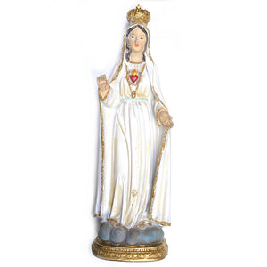 "12"" Our Lady of Fatima"