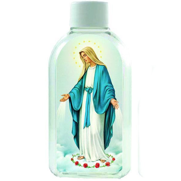 Our Lady of Grace Plastic Holy Water Bottle