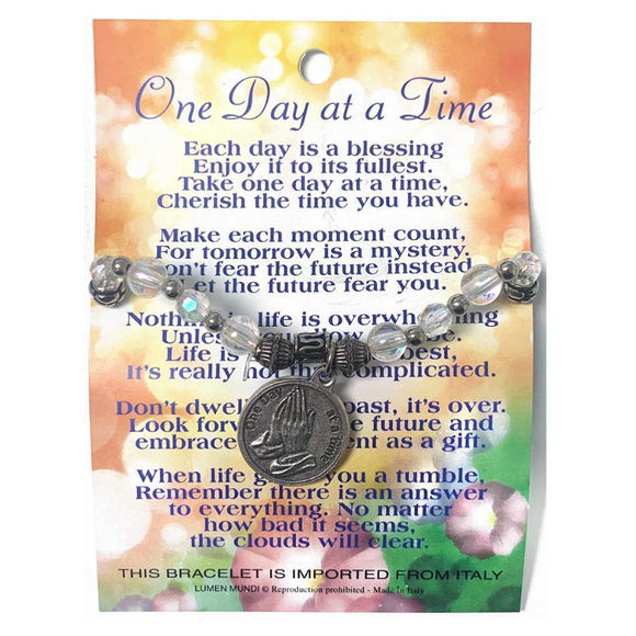 One Day at a Time Card & Bracelet
