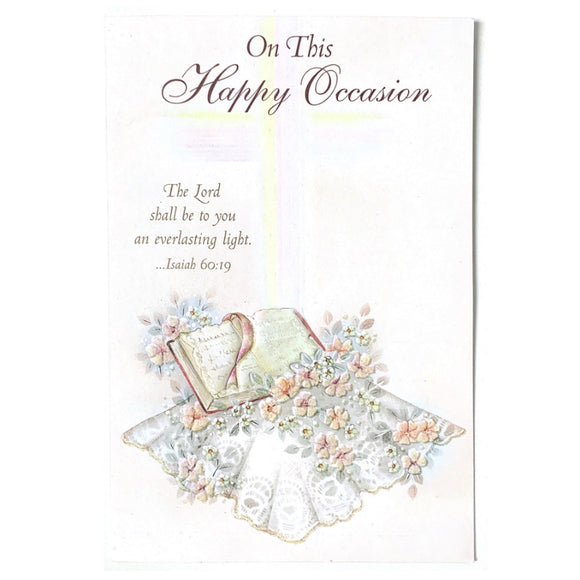 On This Happy Occasion Card