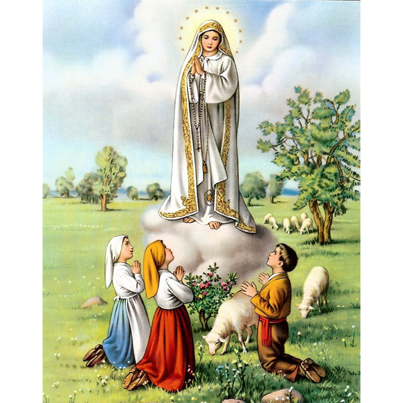 Our Lady of Fatima Carded 8