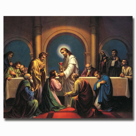 The Last Supper 8x10 Carded Print