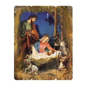 Nativity Plaque