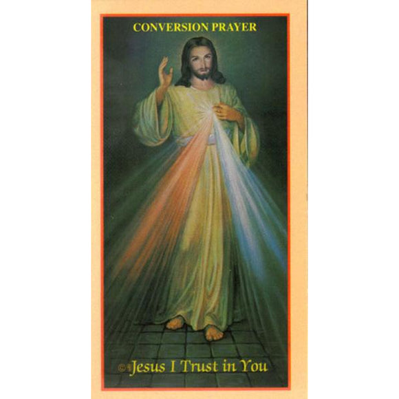 Conversion Prayer