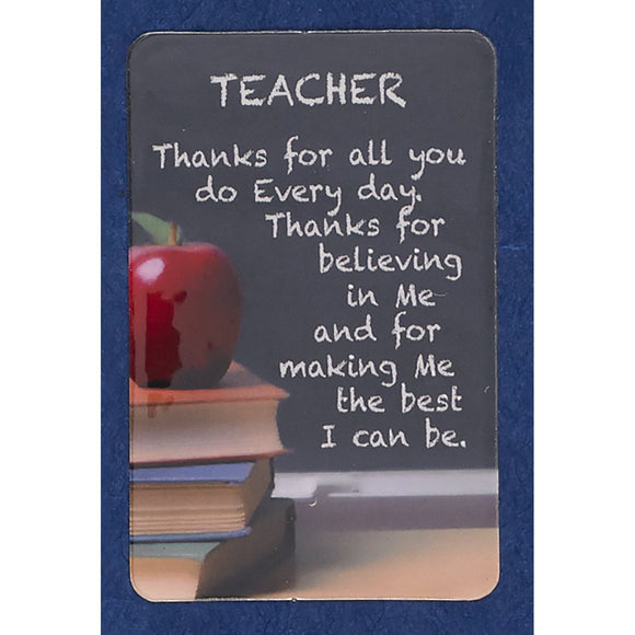 Teacher Motivational Prayercard