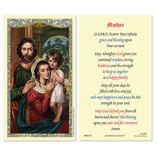 Holy Family Mother Prayer