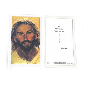 Head of Christ Holy Card
