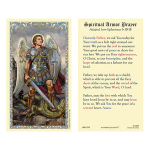 Spiritual Armor Prayer