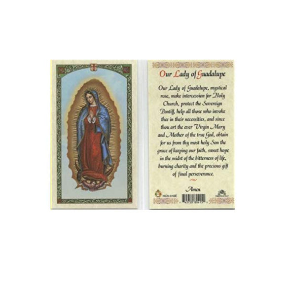 Our Lady of Guadalupe - English