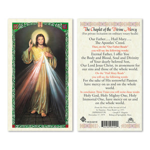The Chaplet of the Divine Mercy - English