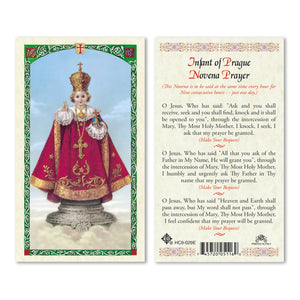 Infant Of Prague Novena Prayer - English