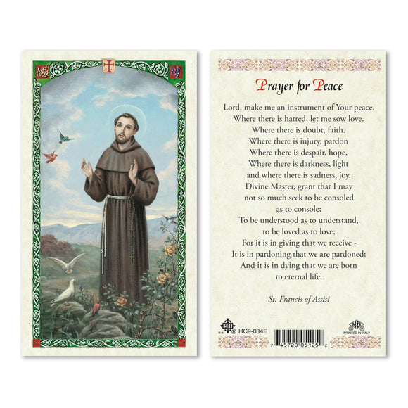 St Francis - Prayer for Peace