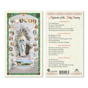 Our Lady of Lourdes Mysteries of the Rosary - English