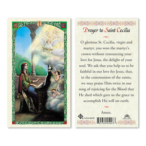 Prayer to St Cecilia - English