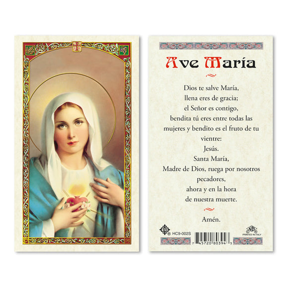 Immaculate Heart Of Mary - Spanish