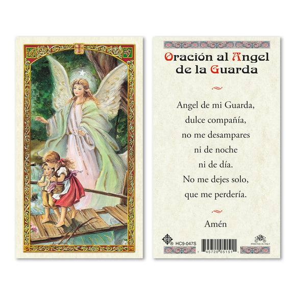 Guardian Angel on Bridge - Spanish
