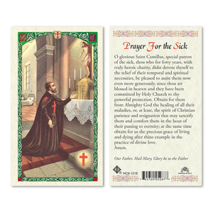 St Camillus Prayer for the Sick