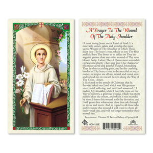 St Bernard A Prayer to the Wound of the Holy Shoulder