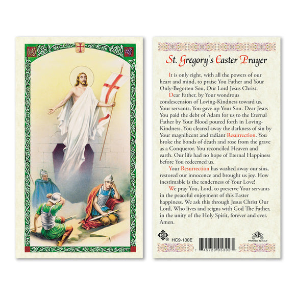 St Gregory's Easter Prayer