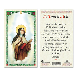St Teresa Of Avila - English