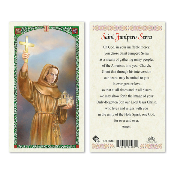 St Junipero Serra - English