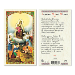Prayer to the Souls - Spanish