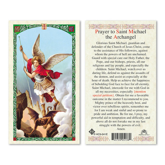Prayer to St Michael - English