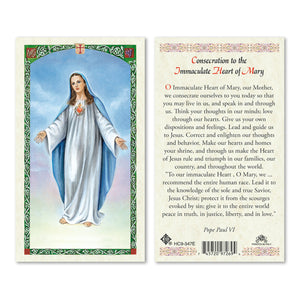 Our Lady Of Peace - Consecration to the Immaculate Heart of Mary