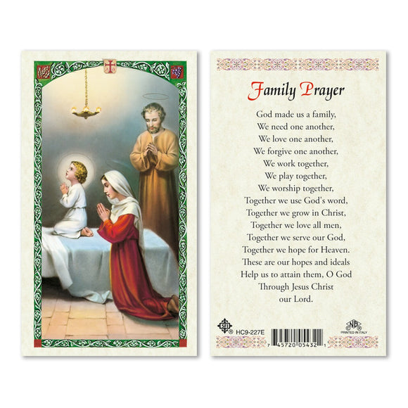 Holy Family - Family Prayer