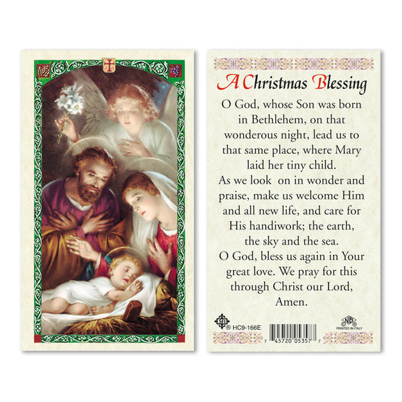 A Christmas Blessing Prayercard