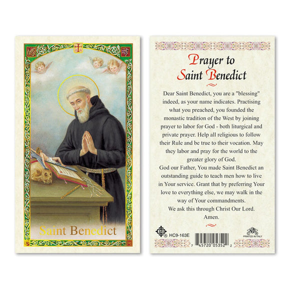 Prayer to St. Benedict