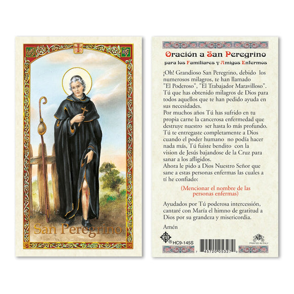 Prayer to St. Peregrine - Spanish