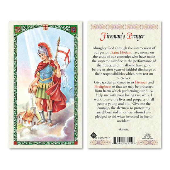 St. Florian Fireman's Prayer