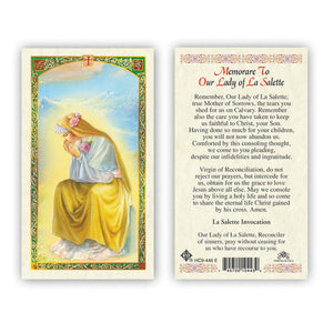 Memorare to Our Lady of La Salette