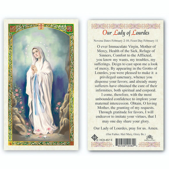 Our Lady of Lourdes - English