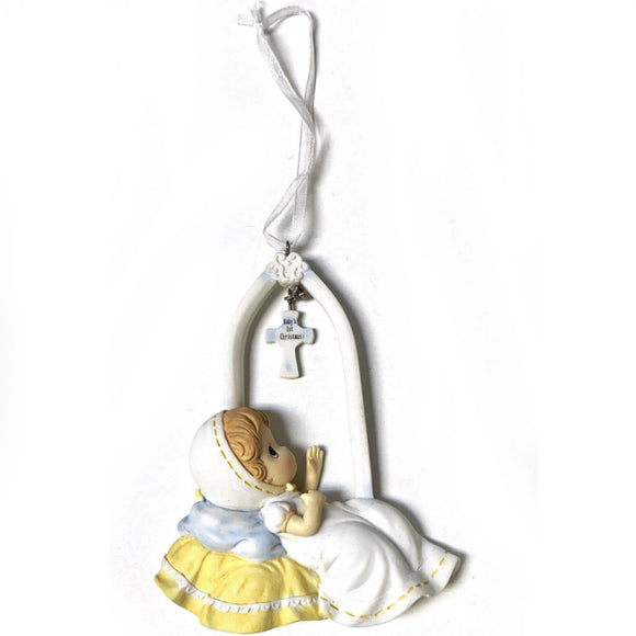 Precious Moments Baby's First Christmas Ornament