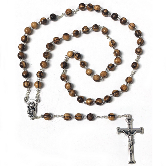 6mm Wood Rosary