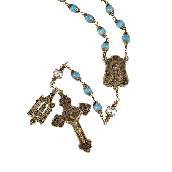 Our Lady of Lourdes Vintage Rosary