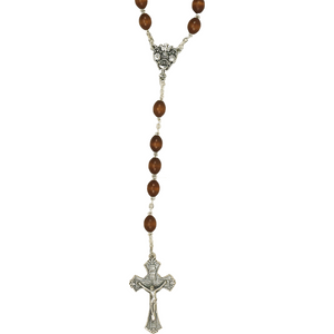 Brown Wood RCIA Rosary