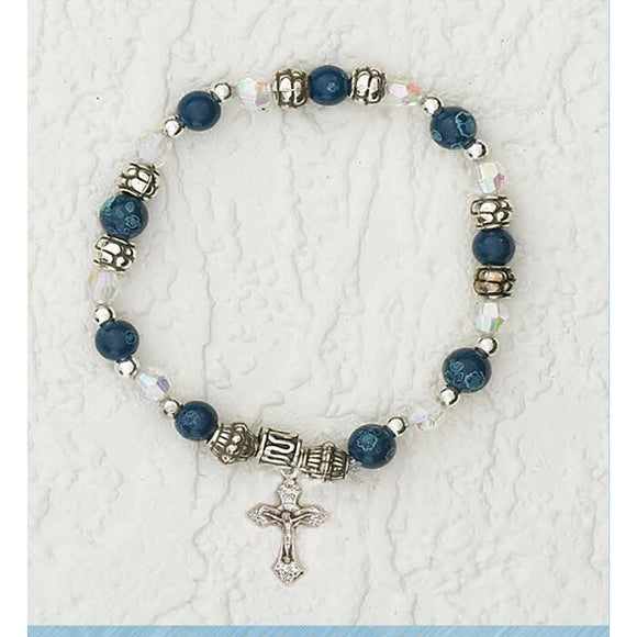 I Wear a Bracelet with a Crucifix Card & Bracelet